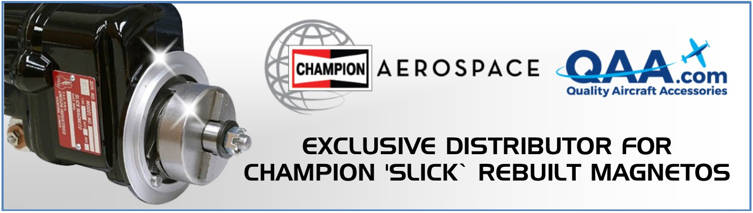 Champion Aerospace Rebuilt Magnetos