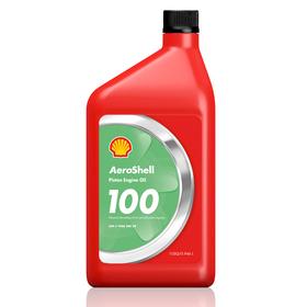 100QT Aeroshell 100 Straight Oil, QT