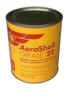 22-6-6LB Aeroshell 22 Grease, 3kg Tin