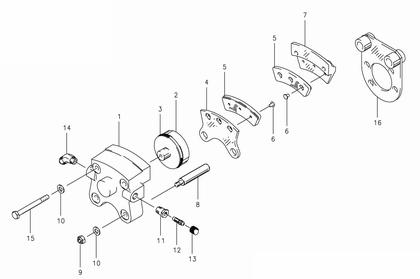 30-239 Brake Assembly-Lh