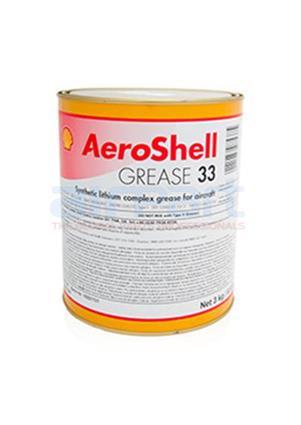 33-6-6LB Aeroshell Grease 33, 3kg Tin
