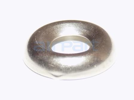 494-003 Washer Brass Finishing Nkl Fin