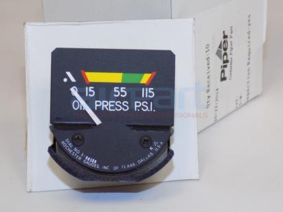548-672 Gauge Oil Pressure