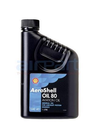 80QT Aeroshell 80 Oil, QT