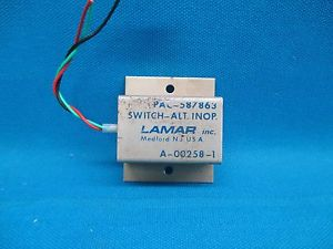 A00258-1 Alt Inoperative Switch 14v