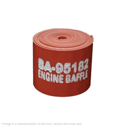 BA-95182-2-3 1/8In Smooth Finish Red Engine Baffle (Roll)