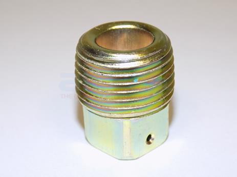 STD551 Plug-.500-14 Npt Sq Hd Drilled